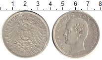 Изображение Монеты Бавария 5 марок 1900 Серебро XF