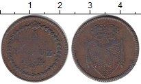 Изображение Монеты Баден 1/2 крейцера 1804 Медь VF