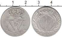 Изображение Монеты Пруссия 1/12 талера 1725 Серебро XF-