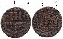 Изображение Монеты Оснабрук 3 пфеннига 1760 Медь XF
