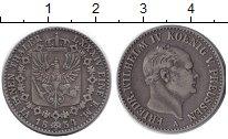 Изображение Монеты Пруссия 1/6 талера 1854 Серебро XF-