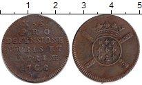 Изображение Монеты Франция 10 су 1708 Медь VF