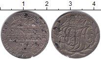Изображение Монеты Анхальт-Зербст 1/24 талера 1749 Серебро XF- НСRF