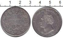 Изображение Монеты Саксен-Майнинген 1 гульден 1838 Серебро XF-