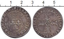 Изображение Монеты Франция 1/4 экю 1603 Серебро VF
