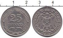 Изображение Монеты Пруссия 25 пфеннигов 1910  XF