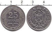 Изображение Монеты Пруссия 25 пфеннигов 1910  UNC-