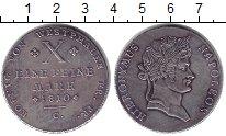 Изображение Монеты Вестфалия 1 талер 1810 Серебро XF
