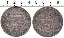 Изображение Монеты Австрия 1 талер 1698 Серебро XF