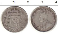 Изображение Монеты Кипр 4 1/2 пиастра 1921 Серебро VF