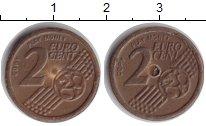 Изображение Монеты Европа 2 евроцента 2000 Железо XF Игровые деньги