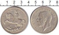 Изображение Монеты Великобритания 1 крона 1935 Серебро UNC-