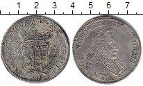 Изображение Монеты Анхальт-Дессау 2/3 талера 1692 Серебро VF Иоганн Георг II