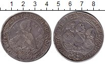 Изображение Монеты Саксония 1 талер 1624 Серебро VF Иоганн Георг I
