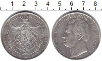 Изображение Монеты Гессен-Дармштадт 2 талера (3 1/2 гульдена 1844 Серебро XF