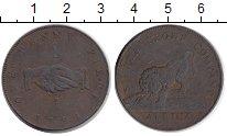 Изображение Монеты Сьерра-Леоне 1 пенни 1791 Медь VF Лев