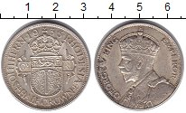 Изображение Монеты Родезия 1/2 кроны 1935 Серебро UNC- Георг V