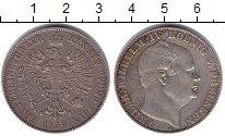 Изображение Монеты Пруссия 1 талер 1857 Серебро XF Фридрих Вильгельм IV