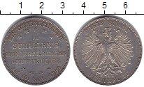 Изображение Монеты Франкфурт 1 талер 1859 Серебро UNC-