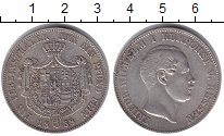Изображение Монеты Гессен-Кассель 1 талер 1858 Серебро VF