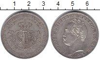 Изображение Монеты Анхальт-Дессау 1 талер 1863 Серебро UNC-