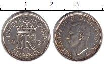 Изображение Монеты Великобритания 6 пенсов 1937 Серебро Proof-