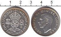 Изображение Монеты Великобритания 2 шиллинга 1937 Серебро Proof- Георг VI