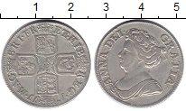 Изображение Монеты Великобритания 1 шиллинг 1777 Серебро XF Анна