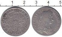 Изображение Монеты Великобритания 1 шиллинг 1663 Серебро VF Карл II