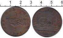 Изображение Монеты Сьерра-Леоне 1 пенни 1791 Медь VF