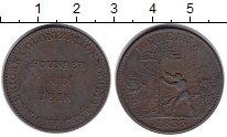 Изображение Монеты Либерия 1 цент 1816 Медь VF