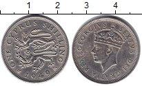 Изображение Монеты Кипр 1 шиллинг 1949 Медно-никель UNC-