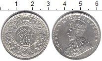 Изображение Монеты Британская Индия 1 рупия 1917 Серебро XF