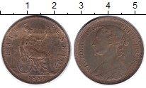 Изображение Монеты Великобритания 1/2 пенни 1887 Бронза UNC-