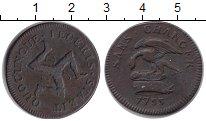 Изображение Монеты Остров Мэн 1 пенни 1733 Медь VF