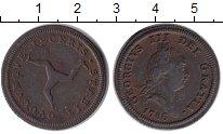 Изображение Монеты Остров Мэн 1/2 пенни 1786 Медь XF-
