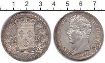 Изображение Монеты Франция 5 франков 1828 Серебро XF