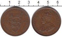 Изображение Монеты Остров Джерси 1/12 шиллинга 1915 Медь XF