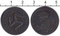 Изображение Монеты Остров Мэн 1/2 пенни 1758 Медь XF-