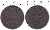 Изображение Монеты Остров Джерси 1 пенни 1813 Медь VF Токен
