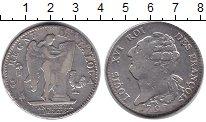 Изображение Монеты Франция 1 экю 1792 Серебро VF Людовик XVI (Первая