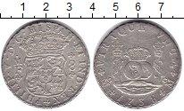Изображение Монеты Мексика 8 риалов 1738 Серебро XF-
