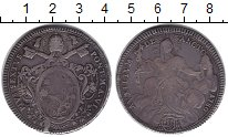 Изображение Монеты Ватикан 1 скудо 1790 Серебро VF