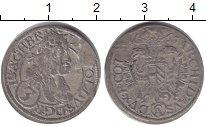 Изображение Монеты Австрия 3 крейцера 1665 Серебро VF Леопольд I