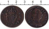Изображение Монеты Ирландия 1/2 пенни 1782 Медь VF