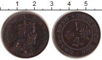 Изображение Монеты Гонконг 1 цент 1904 Медь XF Эдуард VII.