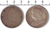 Изображение Монеты Великобритания 1/2 кроны 1897 Серебро XF