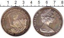 Изображение Монеты Острова Кука 2 доллара 1973 Серебро XF