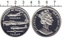 Изображение Монеты Остров Мэн 1 крона 1995 Серебро XF