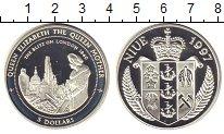 Изображение Монеты Ниуэ 5 долларов 1997 Серебро XF